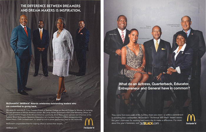 Kisha Williams Beauty, Kisha Williams Advertising, McDonald's, Kisha Williams