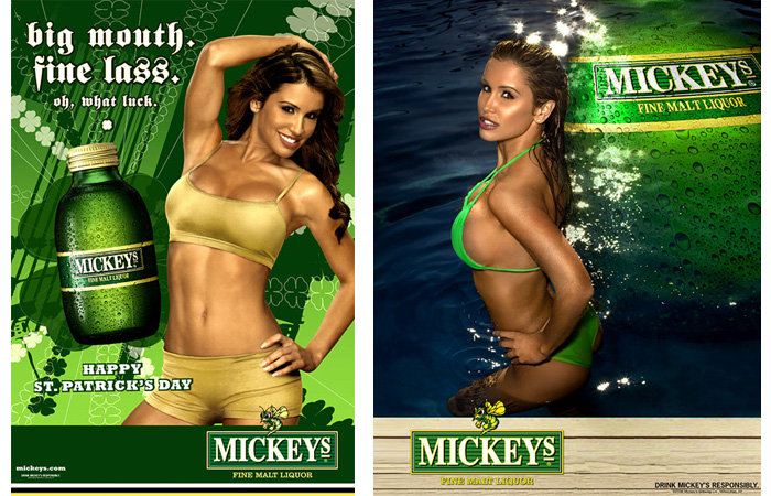 Orlando Santiago Advertising, Mickeys Malt Liquor, Orlando Santiago