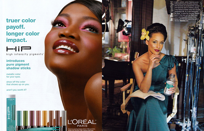 Ashunta Sheriff Advertising, L'Oreal, Alicia Keys, Ashunta Sheriff